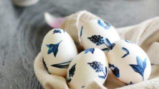 Easter Egg Designs {Porcelain Inspired}