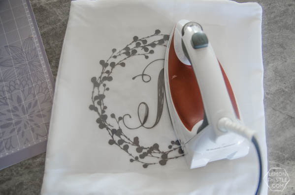 DIY Monogram Pillow Tutorial
