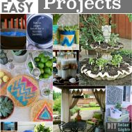 10 DIY Patio Projects | Find easy outdoor projects to make for your patio space. See more on TodaysCreativeLife