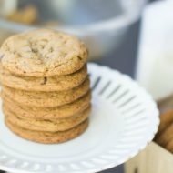Chocolate Chip Cookies Recipe | This will soon become your favorite all time cookie recipe!