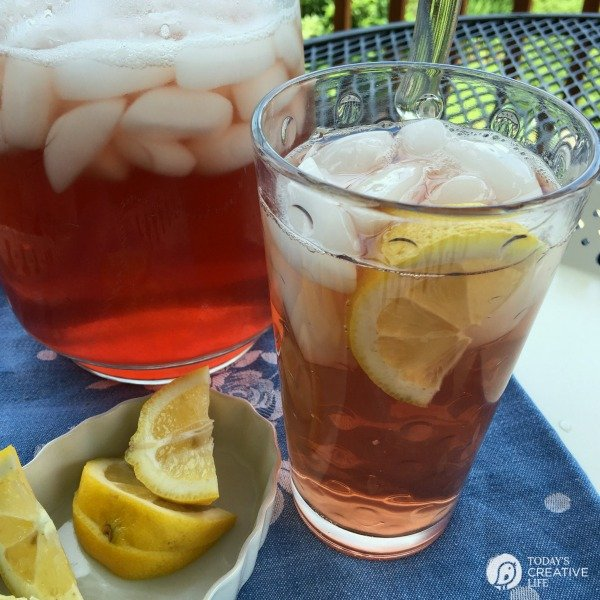 CRANBERRY ICE TEA