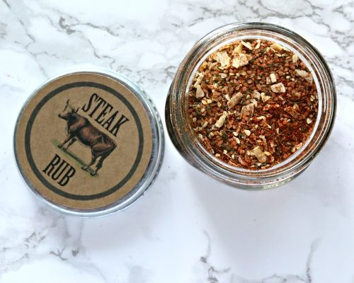 Steak Seasoning Dry Rub | Make your own steak rub for delicious grilling all summer long. Use on Steak or burgers. TodaysCreativeLife.com