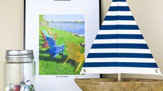 Watercolor Summer Printables