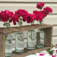 DIY Laboratory Flower Vases