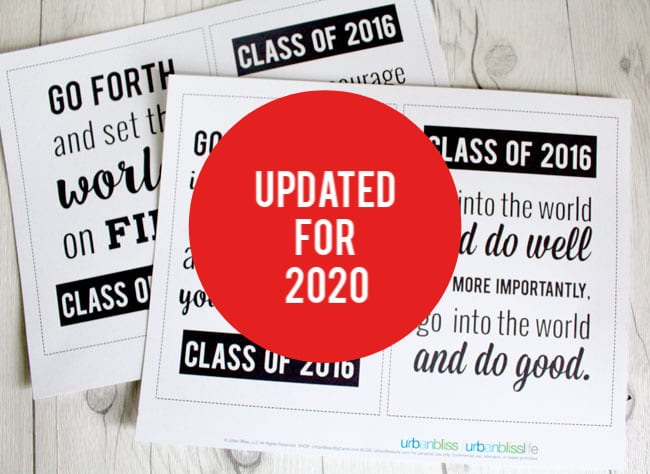 printables with graduation quotes