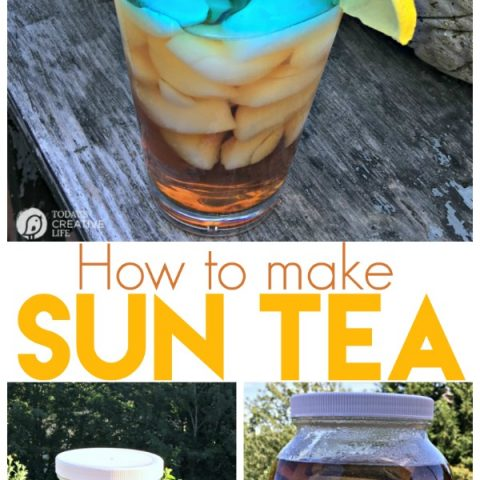 How to Make Sun Tea | Ice Tea never tasted so good! Sun Tea has a rich and bold brewed flavor that will wet your whistle. See more on TodaysCreativeLife.com