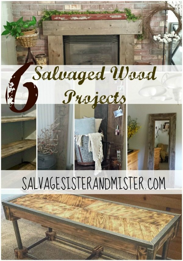 DIY Ideas from Salvage Sister and Mister