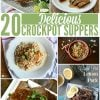 20 Delicious Crockpot Suppers | Just for you, I've collected 20 slow cooker dinners that are all family friendly! Great for busy families. Crockpot Chicken recipes or Crockpot Beef recipes. You'll find something for everyone. See more on Today's Creative Life.