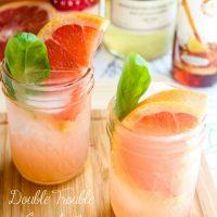 Double Trouble Grapefruit Cocktail