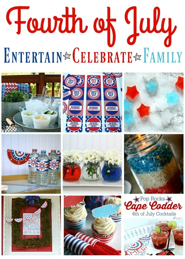 4th of July Ideas | Find simple and creative idea for planning your fourth of July celebration. TodaysCreativeLife.com