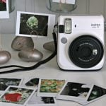 Rock Garden Photo Display | This diy project gives you a stylish way to display your Instax photos. See it on TodaysCreativeLife.com