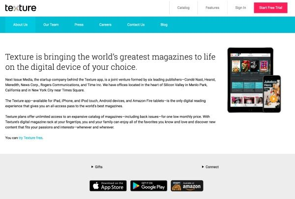 You can read any magazine in one app with the new Texture app. Make travel easier and lighter with all your magazines right on your iPad or tablet! See TodaysCreativeLife for your free trial. #sponsored