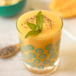 Mango Pineapple Smoothie | Whip up this 3 ingredient simple smoothie for a treat or breakfast! TodaysCreativeLife.com