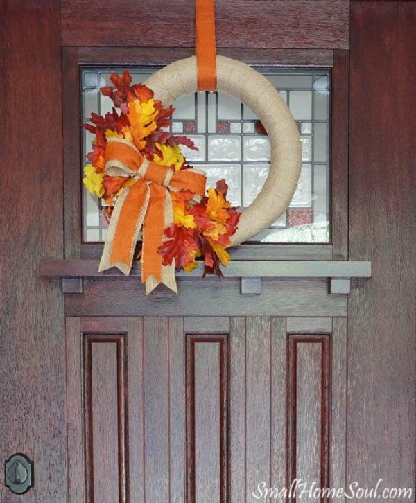 Diy Fall Wreath Today 39 S Creative Life
