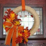 DIY Fall Wreath | Follow this tutorial to make your own wreath for autumn. See it on TodaysCreativeLife.com