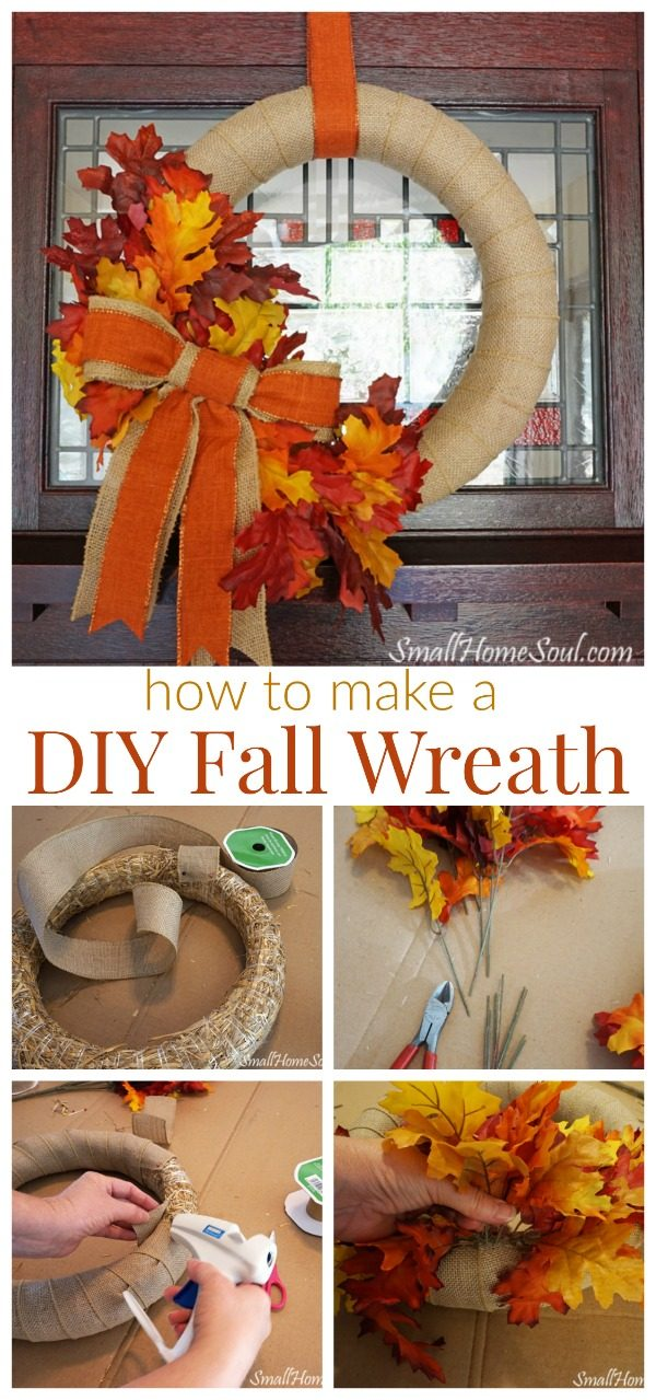 Diy Fall Wreath Tutorial Today S Creative Life