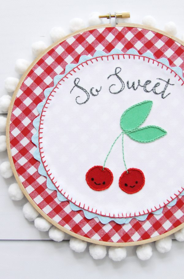Embroidery Hoop Art Tutorial  Today39s Creative Life