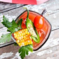 Garden Fresh Bloody Mary
