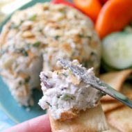 Greek Cheese Ball Recipe