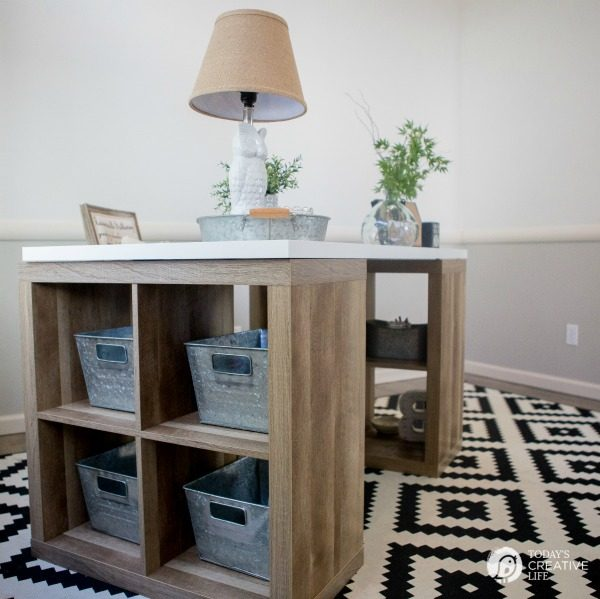 Beau Farmhouse Office Makeover | This Easy Office Makeover Was Easy And  Inexpensive Using Products From Better