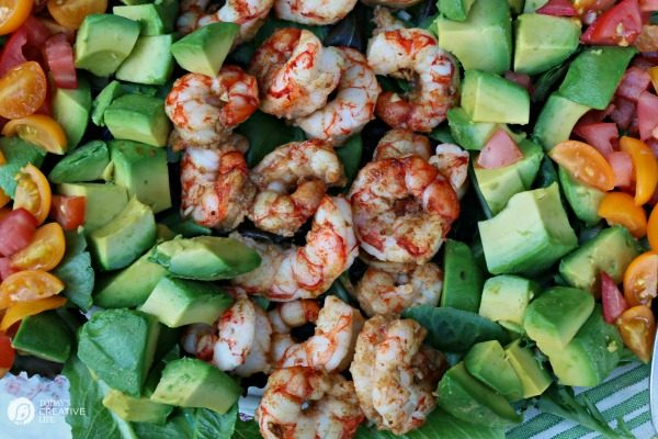 Chili Lime Shrimp | Perfectly seasoned Baked Shrimp in about 10 minutes! Great for salads, surf and turf or even shrimp tacos. See the recipe on Today's Creative Life