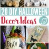 20 DIY Halloween Decor Ideas | Find creative and simple ways to decorate for Halloween. Let's bring some style to Halloween, just say no to tacky decor. Click the photo to see more!