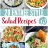 20 Delicious Salad Recipes   Salad Recipes that are perfect as sides or a full entree. You'll find several healthy salads on this list. TodaysCreativeLife.com