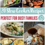 20 Slow Cooker Recipes Perfect for Busy Families | Find Crockpot recipes that are family friendly for easy dinner ideas. Today's Creative Life