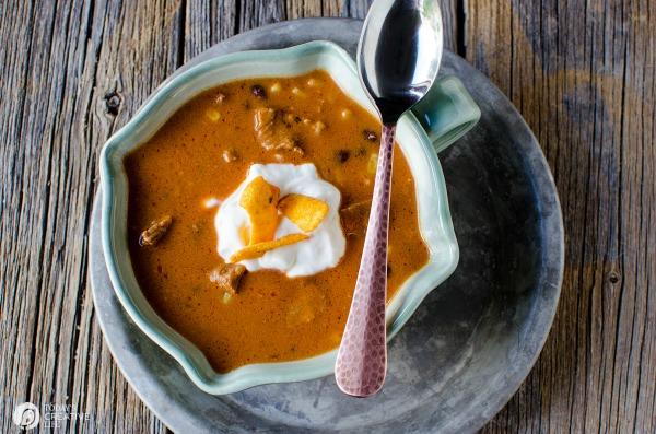 Slow Cooker Enchilada Soup
