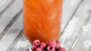 Spiked Raspberry Lemonade Ice Tea