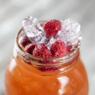 Spiked Raspberry Lemonade Ice Tea