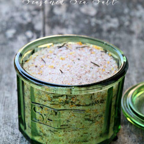 Seasoned Salt Recipe - Citrus Herb Sea Salt