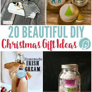20 DIY Christmas Gift Ideas   You'll find homemade holiday gift ideas for everyone on your list! Gifts from the kitchen or your craft room! Click the photo to see more. TodaysCreativeLife.com