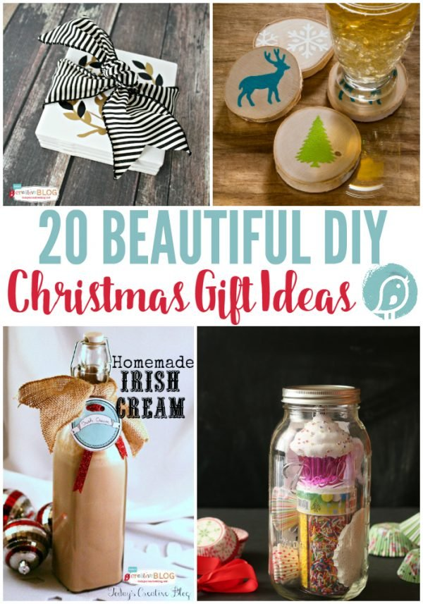 diy craft ideas for christmas gifts 20 diy gift ideas today s creative 7662