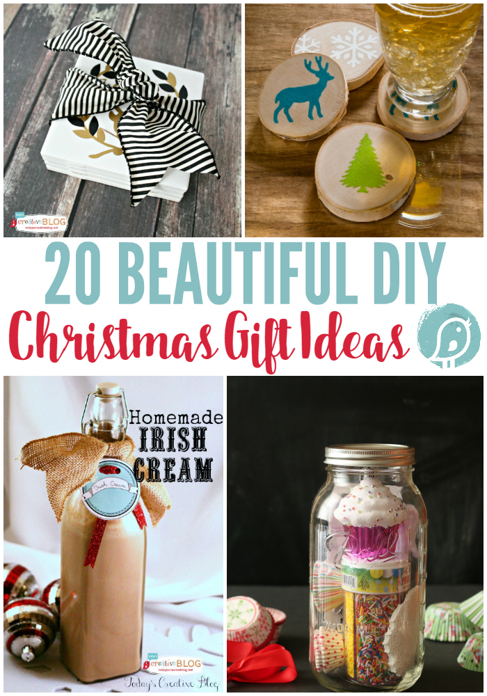 20 DIY Christmas Gift Ideas | Today's Creative Life