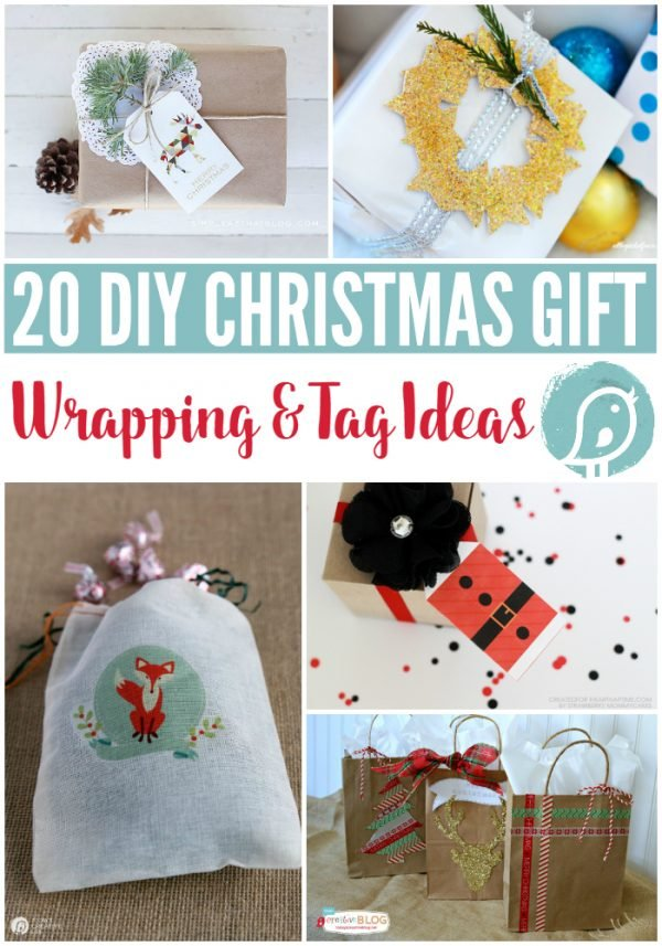 Wrapping Gifts - 20 Gift Wrap & Tag Ideas | Find creative gift wrapping ideas with many printable tags. TodaysCreativeLife.com