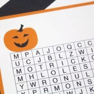 Free Halloween Word Search Printable | Find printable Halloween Ideas, DIY Halloween decorations and more on Today's Creative Life. Click the photo to visit.