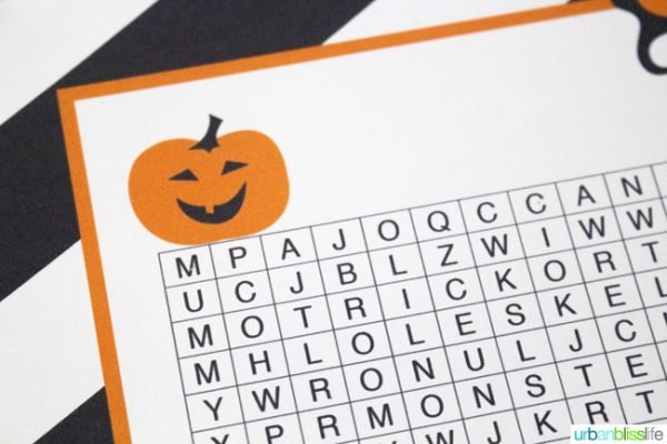 picture about Halloween Decorations Printable identified as No cost Halloween Term Glance Printable Todays Imaginative Existence