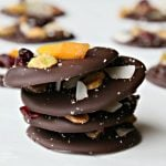 Dark Chocolate Nutty Fruit Bites | Easy diy gift ideas from Today's Creative Life