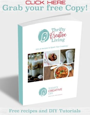 Thrifty Creative Living free ebook!