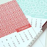 2017 Calendar   This free printable 2017 calendar is stylish enough to be art! 5x7 printable monthly calendar is yours to download. Click the photo to grab yours. TodaysCreativeLife.com