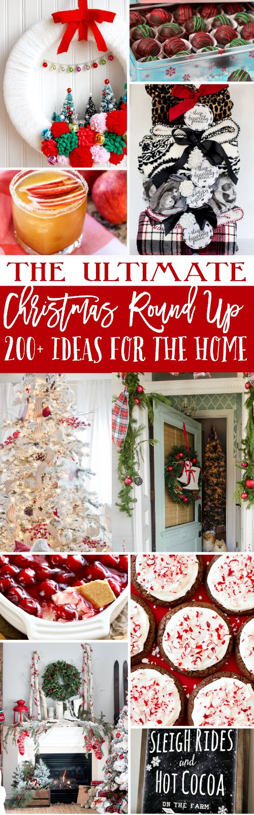 Drink Recipes for the Holiday Season | Find holiday cocktails and drinks as well as over 100 ideas for diy gifts, holiday decor, Holiday homemade goodies, and more! TodaysCreativeLife.com the-ultimate-christmas-round-up-with-200-ideas-for-the-home-gifts-and-things-to-bake