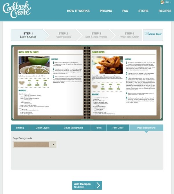 Make your own cookbook | create your own cookbook with your own recipes for a great diy gift idea.