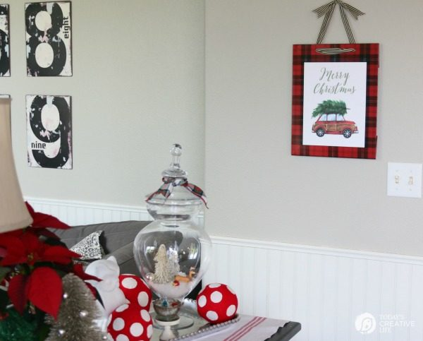 DIY Christmas Decorations | Quick, Easy And Inexpensive Holiday Decor With  This Free Printable.