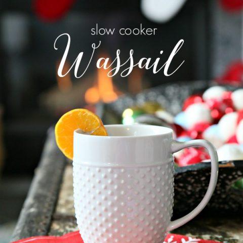 Slow Cooker Wassail Recipe