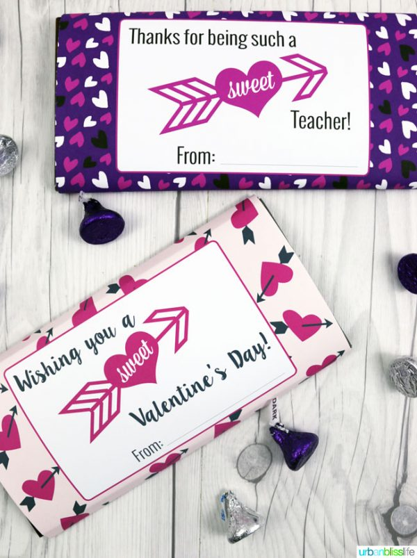 photograph regarding Free Printable Candy Wrappers called Valentines Sweet Bar Wrappers Absolutely free Printable Todays