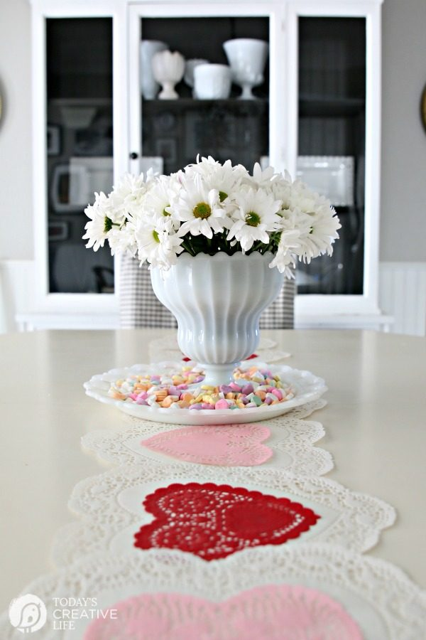 10 Minute Valentines Table Decor Today S Creative Life