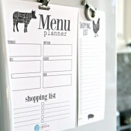 Grocery List Free Printable