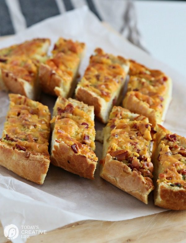 Bacon Cheddar French Bread