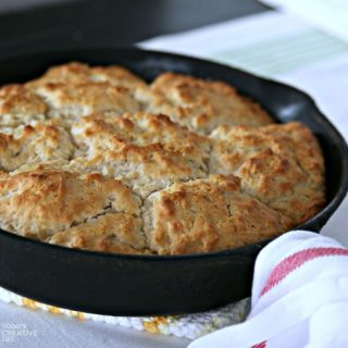 7up Biscuits Skillet Style | Find the recipe on Today's Creative Life
